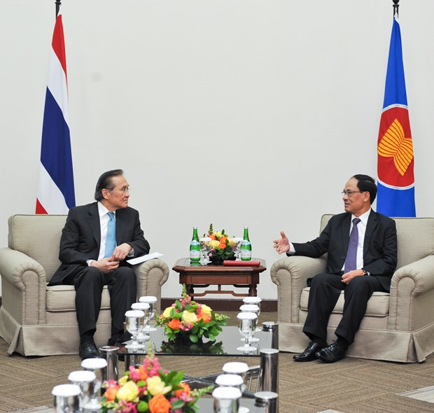 Thailand fosters cooperative ties with ASEAN Secretariat hinh anh 1