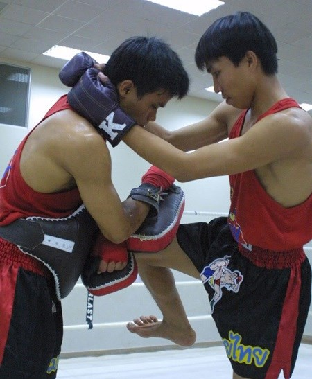 Muaythai team target two golds at Asian Beach Games hinh anh 1