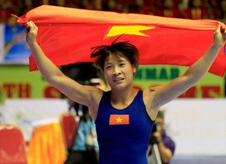 Vietnamese wrestlers ready for Asian Wrestling Championships hinh anh 1