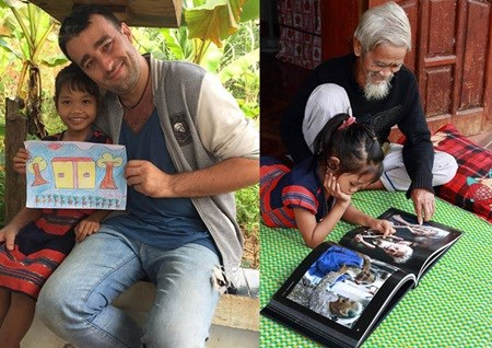 French photographer publishes book on Vietnamese minorities hinh anh 1