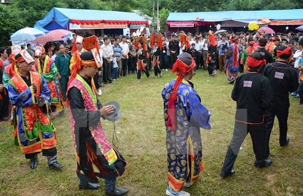 Sa Pa promotes Red Dao community's maturity ritual hinh anh 1