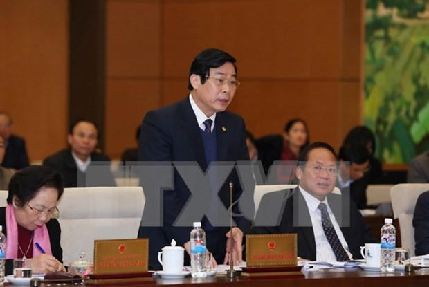 NA deputies discuss Press, Childcare Laws hinh anh 1