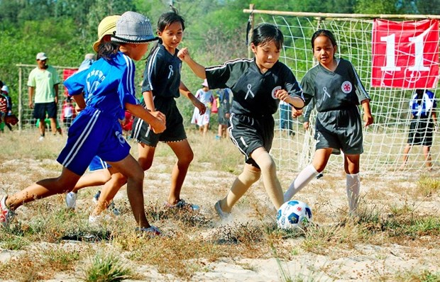 Norway helps Thua Thien-Hue develop community football hinh anh 1