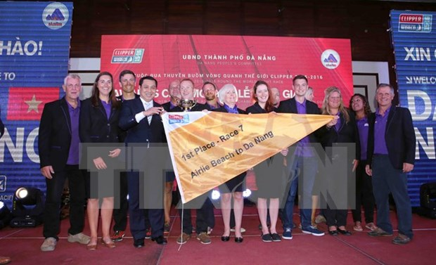 Da Nang hosts prize-giving ceremony for Clipper Race hinh anh 1