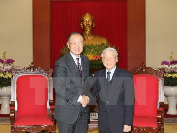 Vietnam expects WB's further assistance: Party Chief hinh anh 1