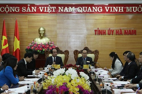 Fatherland Front leader fosters safe agricultural production hinh anh 1