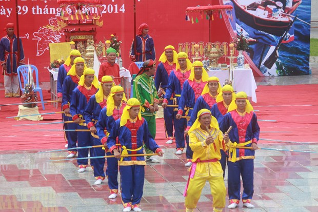 Quang Nam: Ba Trao singing becomes intangible heritage of Vietnam hinh anh 1