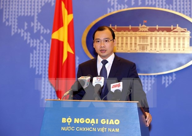 Vietnam calls for responsible actions in East Sea hinh anh 1
