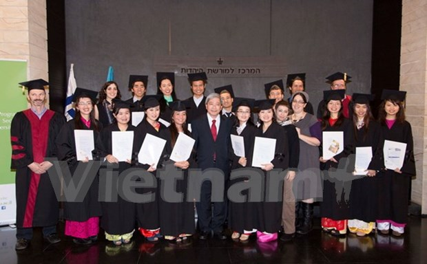 First Israeli agricultural Msc programme for Vietnamese concluded hinh anh 1