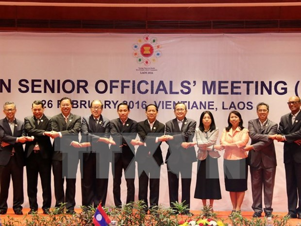 ASEAN senior officials gather ahead of Foreign Ministers' Retreat hinh anh 1