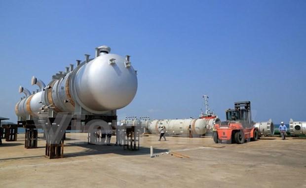 Doosan Vina oil refinery equipment shipped to Turkey hinh anh 1