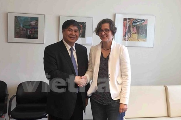 German county appreciates Vietnamese expats' contributions hinh anh 1