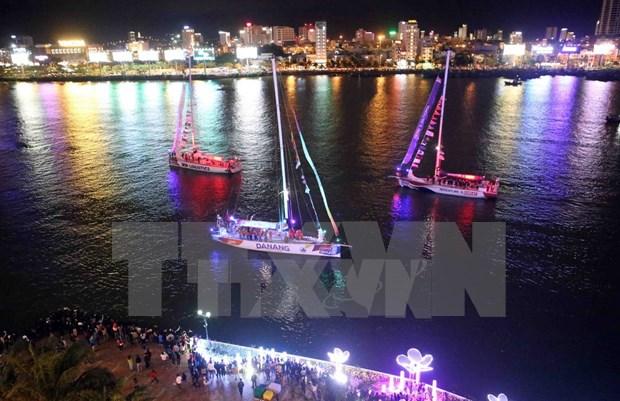 Clipper boats enter 8th racing leg from Da Nang hinh anh 1