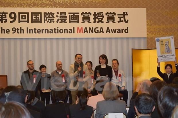 Vietnam's artists receive silver at Japan's International Manga Award hinh anh 1