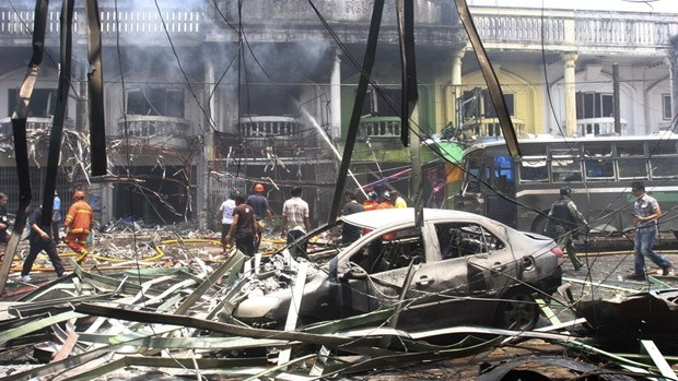 Car bomb attack in southern Thailand hinh anh 1