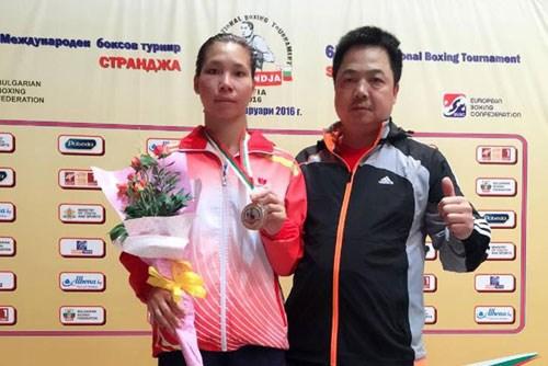 Vietnam wins silver medal at Strandja boxing tournament hinh anh 1