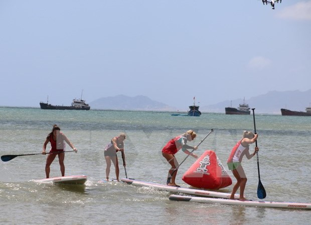 Asian kite surfing championships end in Ninh Thuan hinh anh 1