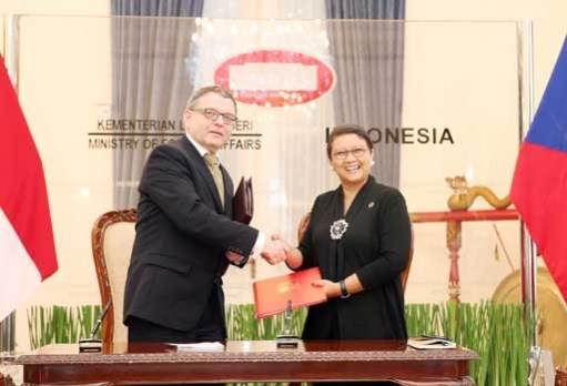 Indonesia, Czech enhance economic links hinh anh 1