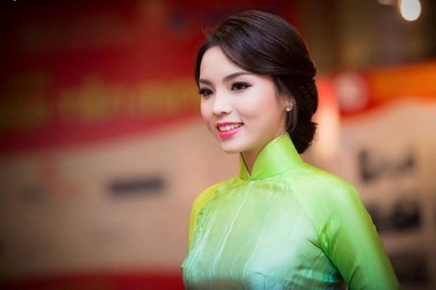 Female ambassadors to go catwalk in Vietnamese 'ao dai' hinh anh 1