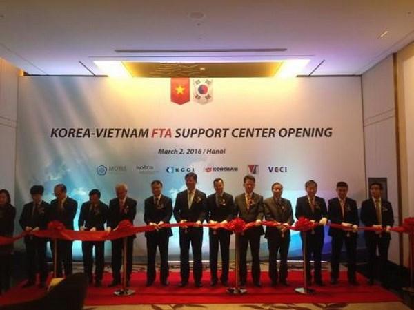 Vietnam-Korea FTA Support Centre opens hinh anh 1