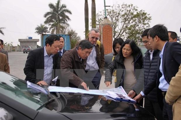 World Bank surveys coastal road construction in Thai Binh hinh anh 1