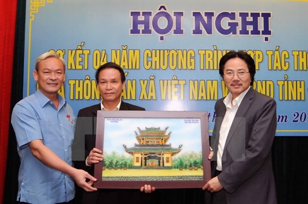 VNA, Dong Nai review four-year communications cooperation hinh anh 1