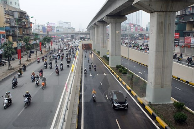 Hanoi's transport infrastructure alarming hinh anh 1