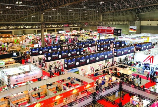 Vietnam attends largest food fair in Japan hinh anh 1