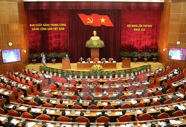 First working day of Party Central Committee's 2nd plenum hinh anh 1