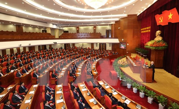 12th Party Central Committee's second session makes crucial decisions hinh anh 1