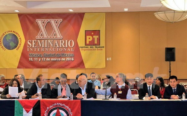 Vietnam attends left-wing conference in Mexico hinh anh 1