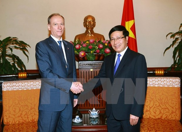 Deputy PM receives Russian Security Council Secretary hinh anh 1