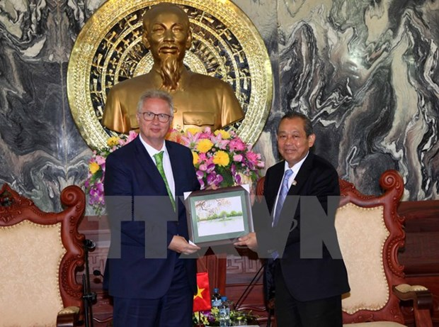 Chief Justice welcomes Hungary's Justice Minister hinh anh 1