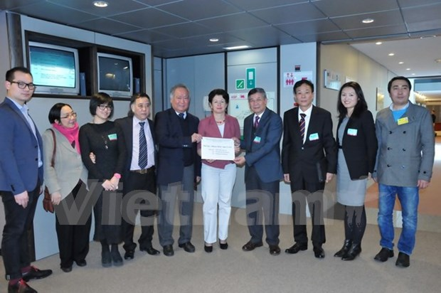 Vietnamese expats send concerns over East Sea issue to EP hinh anh 1