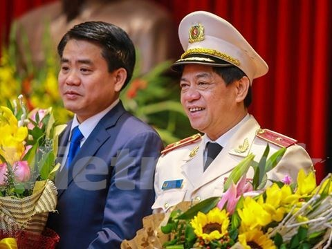 Doan Duy Khuong appointed Director of Hanoi Police hinh anh 1