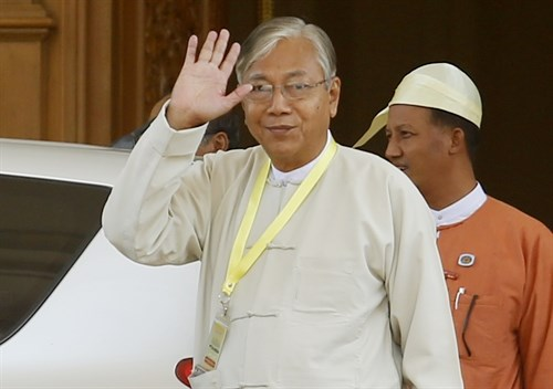 Myanmar elected president submits proposal plan on new cabinet hinh anh 1
