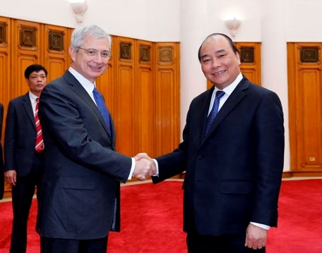 Deputy PM welcomes President of French National Assembly hinh anh 1