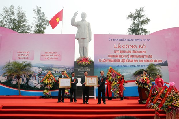 Co To wins new-style rural area status hinh anh 1