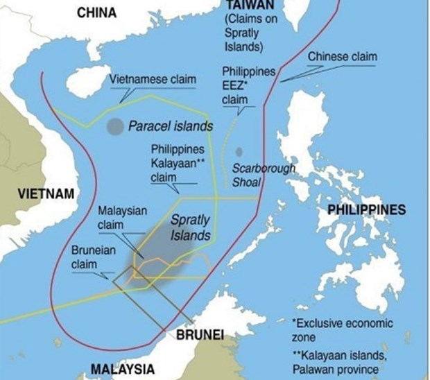 RoK's press rejects China's claim on U-shaped line hinh anh 1