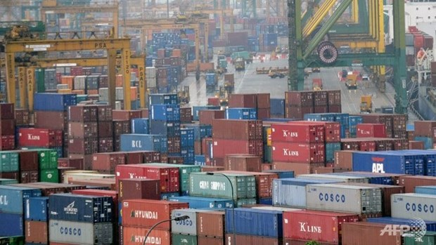 Singapore's exports rise unexpectedly in February hinh anh 1