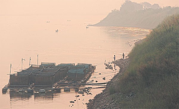 Mekong River level in northeast Thailand rises hinh anh 1