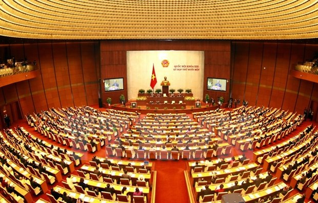 13th National Assembly's last meeting opens hinh anh 1