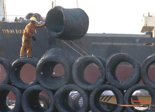 Quality inspections tightened for steel imports hinh anh 1