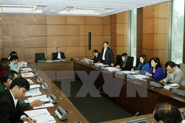 Leaders' working reports, child protection draft law discussed hinh anh 1
