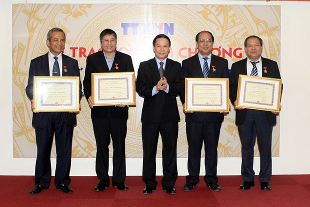 Vietnam News Agency supports trade union sector hinh anh 1