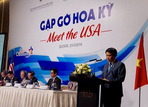 Hanoi courts US investment hinh anh 1