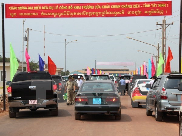 Tay Ninh: Chang Riec upgraded to main border gate hinh anh 1