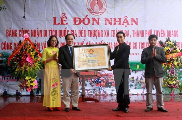 Thuong temple in Tuyen Quang honoured as national relic site hinh anh 1