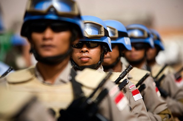 Indonesia send soldiers to join UN's peace keeping mission in Sudan hinh anh 1