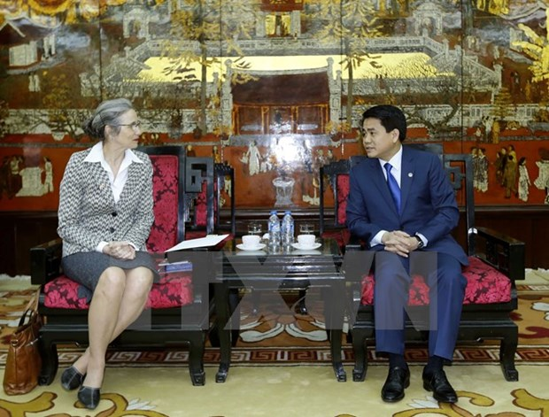 Hanoi seeks Amsterdam's cooperation in environment, climate change hinh anh 1